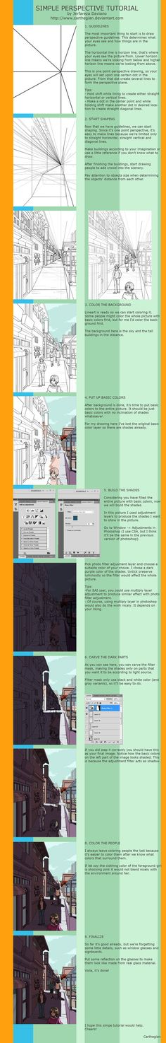 Simple Perspective Tutorial by ~Carthegian on deviantART