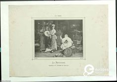 'Le Nettoyage', a maid and a servant cleaning up a room; 1876/1920. Courtesy MoMu - ModeMuseum Provincie Antwerpen, all rights reserved.