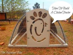 How To Build A Chicken Tractor ~ The Adventure Bite