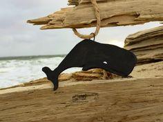 Nantucket Whaler sperm whale ornament