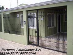 Rejas House Fence Design, Garage Design, Door Design, Iron Garden Gates, Iron Gates, Home Outer Design, Terra Nova, Iron Gate Design, Mexico House