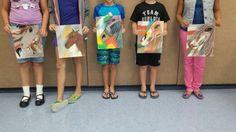 Art class 8-12 yr olds
