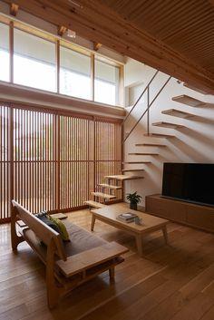 Modern Japanese Interior, Japanese Interior Design, Japanese Home Decor, Japanese House, Home Interior Design, Interior And Exterior, Wooden House Decoration, Muji Home, Japan Interior