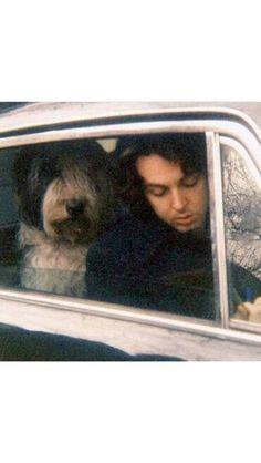 Paul and Martha. Martha My Dear, The Beatles, Polaroid Film, Icons, Symbols, Ikon, Beatles