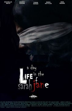 "Mock poster design concept #2 for short film, ""A Day in the Life of Sarah Jane"""