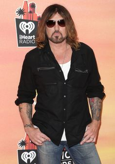 First off, we have the man, the myth, the legend: Billy Ray Cyrus. | 40 Pictures That Will Give You Douche Chills