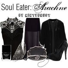 """Soul Eater: Arachne"" by mintyghost on Polyvore"