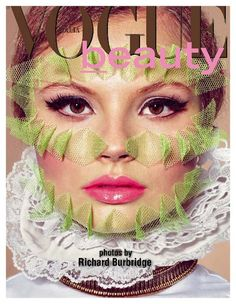 Lollipop Beauty – Magdalena Frackowiak teams up with Richard Burbridge for a beauty spread in the latest issue of Vogue Italia. Taking on lace, color and baroque inspired accents, Magdalena really shows her personality in Robbie Spencer's quirky stylings.  Visit Vogue Italia Beauty for a behind the scenes look