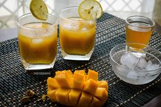 Mango Green Tea is a refreshing drink made using green tea and flavoured with fresh mango puree. Here is how to make it. Do make it this season.