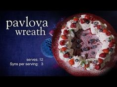 Slimming World Christmas pavlova wreath 3 Syns Scientifically Proven Home Sl. - Slimming World Christmas pavlova wreath 3 Syns Scientifically Proven Home Slimming Methods Peo - Healthy Eating Tips, Healthy Nutrition, Christmas Pavlova, Slushie Recipe, Cheap Diet, Smoothie Recipes, Drink Recipes, Jelly Recipes, Vegetable Drinks
