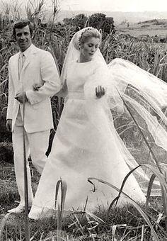 "Jean-Paul Belmondo & Catherine Deneuve, ""Mississippi Mermaid,"" 1969"