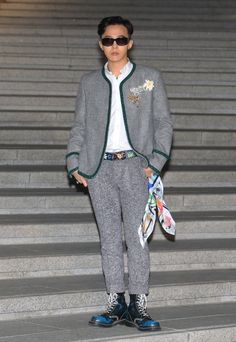 G-Dragon At the Resort 2016 show Photo: Getty Images