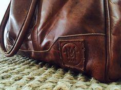 Leather Holdalls, Weekender, Leather Backpack, Deep, Backpacks, Unisex, Pocket, Brown, Casual