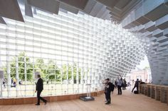 Gallery of Gallery: The Serpentine Pavilion and Summer Houses Photographed by Laurian Ghinitoiu - 1