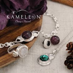 #StambaughLoves this new Autumn Kameleon jewelry and JewelPops.  Stop in and try some on today!