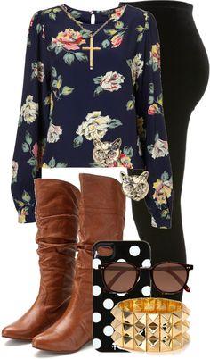 Untitled moda fashion, outfits y fashion outfits I Love Fashion, Teen Fashion, Passion For Fashion, Fashion Outfits, Womens Fashion, School Looks, Fall Winter Outfits, Autumn Winter Fashion, Fall Fashion