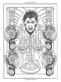Amazon.com: Vampires Coloring Book (Dover Coloring Books) (9780486478487): Marty Noble, Coloring Books: Books