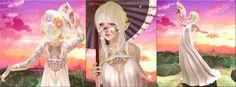 Neon Spiderfoot: Goddess of the Sherbert Skies ~