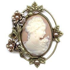 Sweet Romance™  Princess Rose Cameo Pin