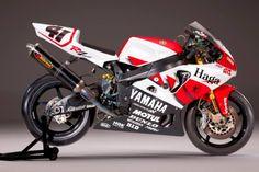 Yamaha YZF-R7 SBK Nitronori Haga | Cabeça Motorizada