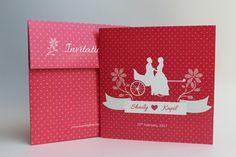 Pink Camellias Invite