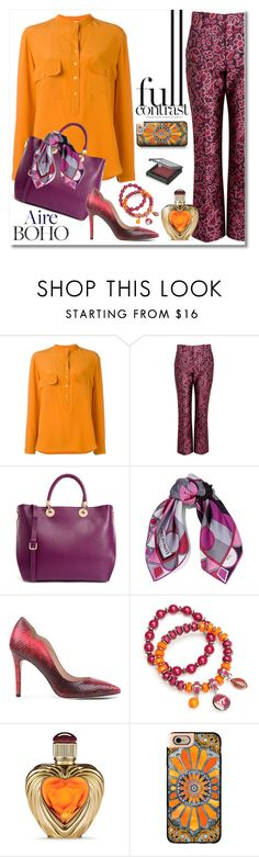 """""""Boho in Soho"""" by ladychatterley ❤ liked on Polyvore featuring STELLA McCARTNEY, Lanvin, Furla, Emilio Pucci, Lucy Choi London, Accessory PLAYS, Victoria's Secret, Casetify and MAKE UP STORE"""