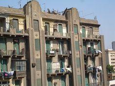 Art Deco building Downtown Cairo.