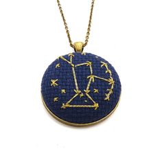 Orion Constellation Cross Stitch Embroidery ...
