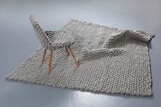 Austrian Hans Sapperlot turns traditional loden fabric into cool knit furniture design