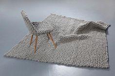 Austrian Hans Sapperlot turns traditional loden fabric into cool knit furniture design