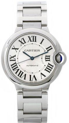 W6920046 Cartier Ballon Bleu Automatic Steel Silver Dial Watch