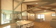 boerderij nieuwbouw zitkamer