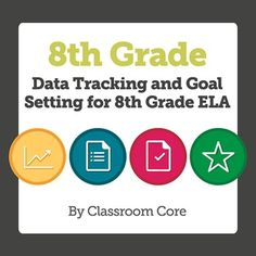 """Data tracking, especially the kind that kids do for themselves, is a wonderful part of monitoring progress and recognizing student growth. However, keeping track of """"all the tracking"""" requires an organized efficient system. For that reason we have designed this product to provide a way to keep all the data at your fingertips—or on your walls! Check out the data pack for easy organizing, tracking, graphing, student goal setting, and celebrating achievement!"""