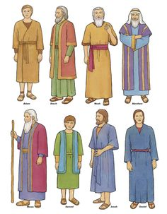 See 6 Best Images of Printable Bible Figures. Craft Stick Puppets Bible Characters Bible Character Timeline Free Printable Bible Figures LDS Prophets Old Testament Bible Free Bible Printables Bible Story Crafts, Bible Stories, Biblical Costumes, Flannel Board Stories, Flannel Boards, Follow The Prophet, Bible Activities, Sunday School Lessons, Bible For Kids