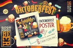Oktoberfest Beer Festival by elfivetrov on @creativemarket