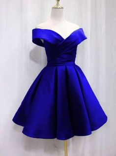 Buy directly from the world's most awesome indie brands. Or open a free online store. Off the shoulder royal blue a-line homecoming dresses,short homecoming dresses on Storenvy Blue Homecoming Dresses, Grad Dresses, Cute Dresses, Evening Dresses, Short Dresses, Dama Dresses, Quince Dresses, Marine Uniform, Royal Blue Dresses