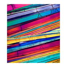 Microscopic Modern Fine Art Photograph Crystal by ChaseLindberg,