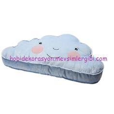 ikea sevimli mavi bulut minder yastık çocuk odası dekorasyonu http://hobidekorasyon.mevsimlergibi.com/yeni-cikan-ikea-cocuk-urunleri-ve-fiyatlari/