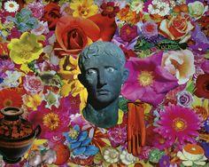 Felipe Cardeña, Love Song, 2012, collage su tela, 40x50.