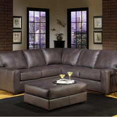 2655 Sectional Sofa by USA Premium Leather : galaxy sectional sofa - Sectionals, Sofas & Couches