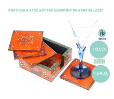 Exclusive Offer only for you, answer the simple Riddle and take away beautiful Coasters at Flat 10% Off. Reply fast. First Come First Serve. Offer Valid till 31st Aug 2014. Visit: http://www.indikala.com/featured-products/jaipuri-wooden-coasters-5.html