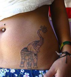 elephant tattoo!