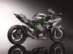 2015 version of the H2. This is the Ninja H2R, complete with 296bhp
