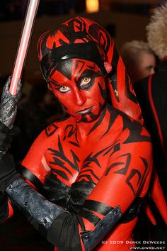 Female darth maul cosplay