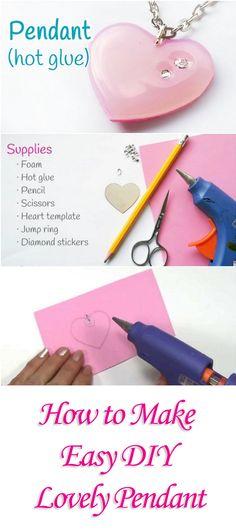 How to Make Easy DIY Lovely Pendant