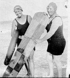 1920. Virginia Beach  This picture makes me ridiculous smile.