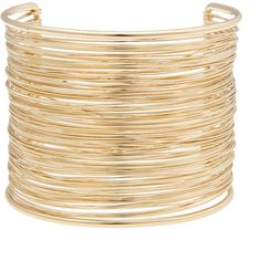 ELOQUII Wire Wrapped Cuff ($23) ❤ liked on Polyvore featuring jewelry, bracelets, cuff bangle, plastic bangles, cuff jewelry, wire wrap jewelry and eloquii