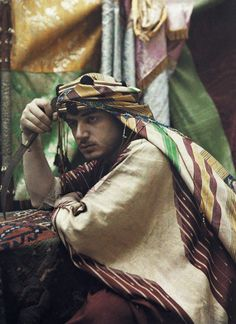 Portrait of an Arabian Emir, Damascus, Syria by Gervais Courtellemont, National Geographic