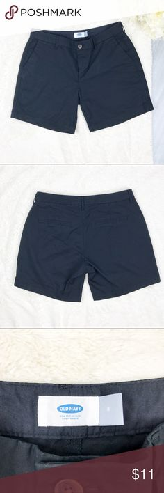 Old Navy Shorts Old Navy Shorts Size 8 Excellent Used Condition!  Measurements: - Across the top: 16.5 in. - Down the side: 16 in. - Inseam: 7 in.  Materials: - 97% cotton, 3% spandex   MAKE AN OFFER!!! Old Navy Shorts