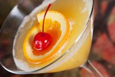 Serve the Flirtini for a Perfectly Romantic Evening: The Flirtini is a great drink that mixes your favorite vodka with Champagne and pineapple.